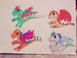 Angel's forms by minecraftmobs456