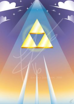 The Triforce by Acilegna93
