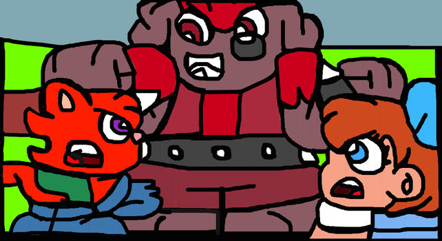 Brugster Ready To Bully Monroy And (Toon) Dorothy by Gr8Finity