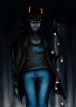 VRISKA SERKET: Feeling lucky? by Appelmos