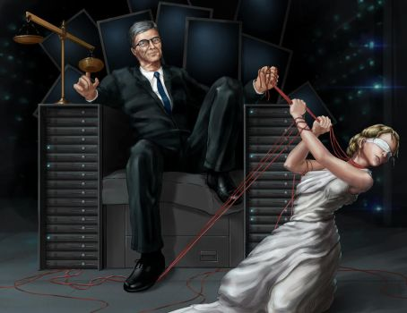 (In)Justice for All (2014 Net Neutrality Fight) by GhostAegis