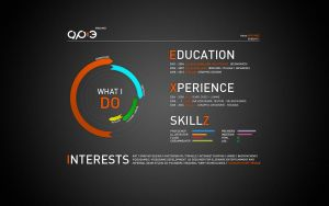 The old online version of my resume (2010) by AP-3