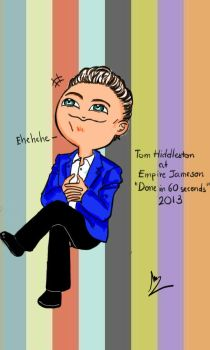 Tom Hiddleston in Done in 60 seconds Competition by Lad1991