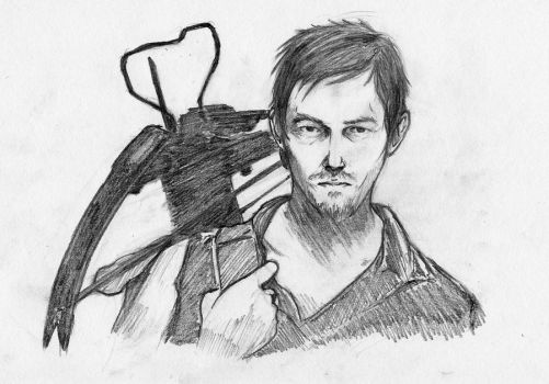 Daryl Dixon by Sokkhue