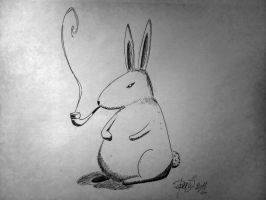 Frank the bunny by labeled-black