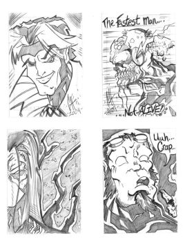 Charity Sketch Card - Set2 by HydeKomiksInk