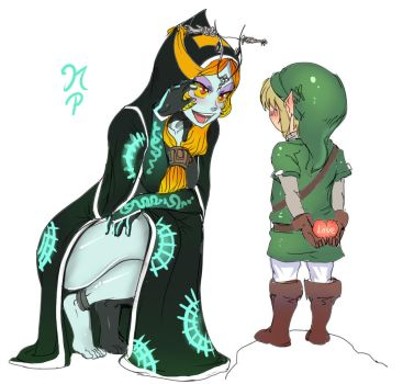 Midna X MiniLink by ManiacPaint
