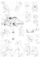 Pokemon evo sketch dump