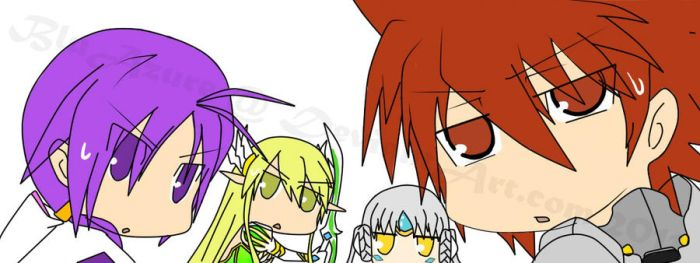 Elsword - What..? by BluAzure