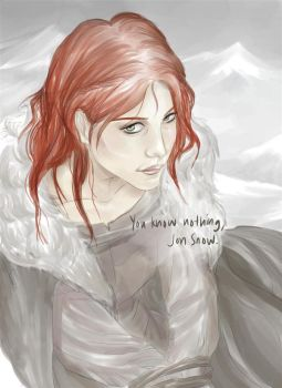 Ygritte by clowve