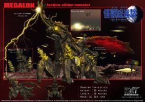 Megalon by LDN-RDNT