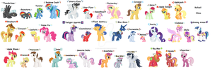 MLP FiM Next Generation by Brillonsloup
