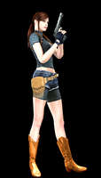 Claire Redfield Young by Chris-Valentine-X