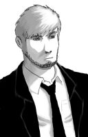 Me in comic style by Scha11enkrieger