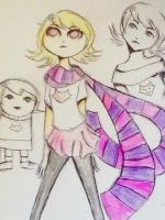 Roxy doodles by Faifely