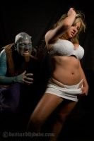Alise and Enigma 2 by DastardlyDave