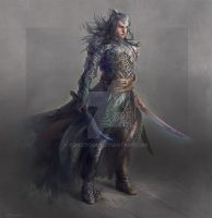 House of Elrond - Peredhil warrior by conzitool