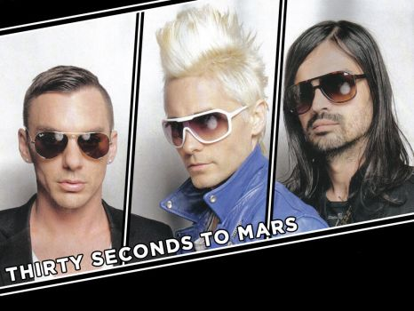 30 Seconds to Mars Wall 220 by martiansoldier