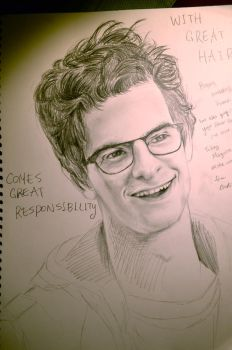 Andrew Garfield as Peter Parker by HUKUforALL