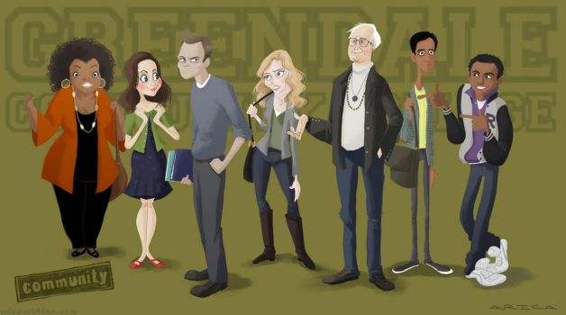 Community Lineup by AricaTuesday