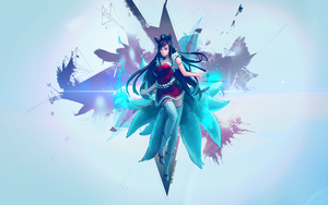 Ahri - League of Legends by anewashere