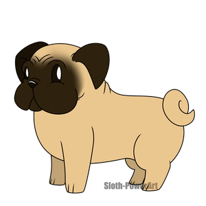 Cute Dogs - Pug by Sloth-Power