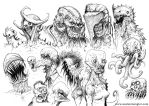 MONSTERS 02 by AustenMengler