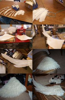 Cosplay wing tutorial by etaru