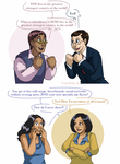 Character vs. Inspiration: Bennet and Olive by ErinPtah