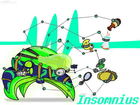Insomnius, the Crusader of Science by Nyanbonecrush