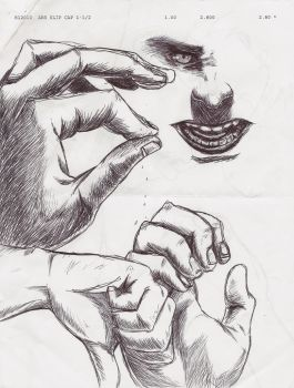 Figure Study: Hands by Scottisfamous7