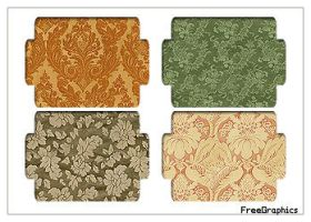 Damask Pack Pattern 6-6 by Kihaad