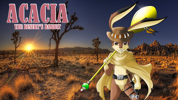 Acacia of the Morning... by Acacia-Rabbit-Desert