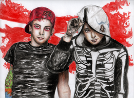Twenty One Pilots by akindasailor