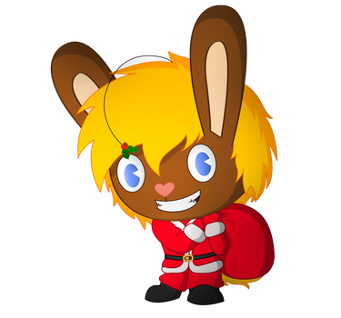 x-mas bunny by Wopter