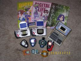 My digimon collection by PlushKarmsie