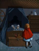 Grimm's:Little Red Riding Hood by theartful-dodge