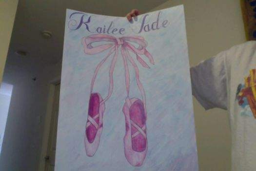 Kailee Ballet Shoes by Ger-Bear