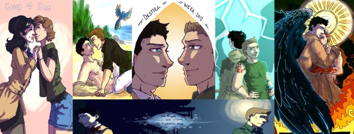 Destiel by yamiswift