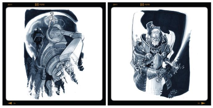 FOTO - SAMPLE PAGE 01 by EricCanete