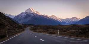 Highway to the Mountains by Niv24