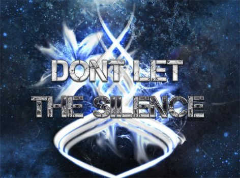 Dont let the silence by touchingandkissing