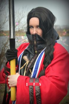Fiends by the Moonflow - Fem!Auron cosplay by SwordofNyx