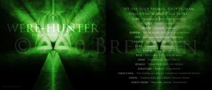 Were-Hunter CD Cover by Breogan