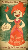 Adventure Time Fire Princess by FischHead