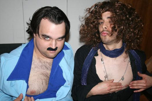 Ron Jeremy and Russel Brand by batsandtape