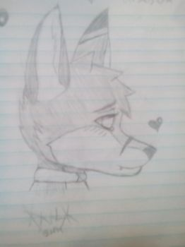 Me as my sona~ by catstar911