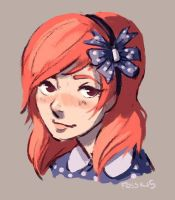 hair bows by fossilizer