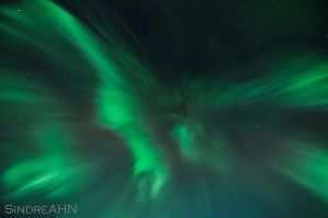 Northern Lights Zenith Corona by SindreAHN