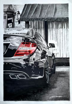 Mercedes C63 AMG by Haque-Designs